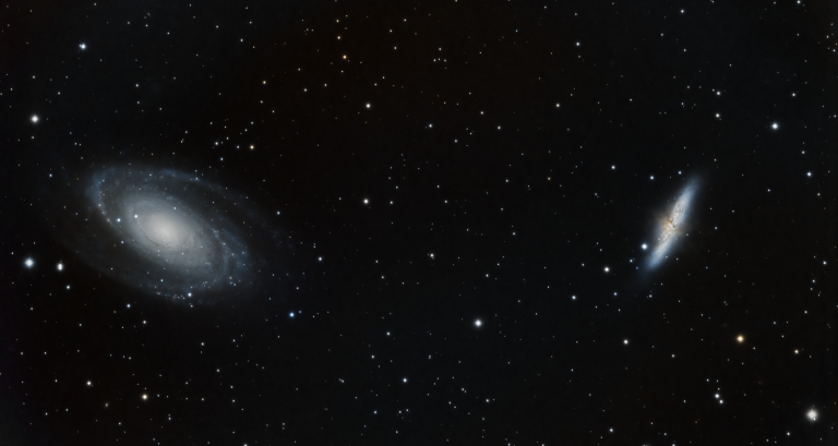 Bode's Galaxies (M81 & M82)