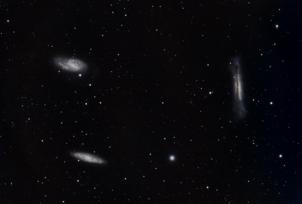 """""""Leo Triplet"""" of galaxies"""