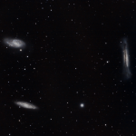 """Leo Triplet"" of galaxies"