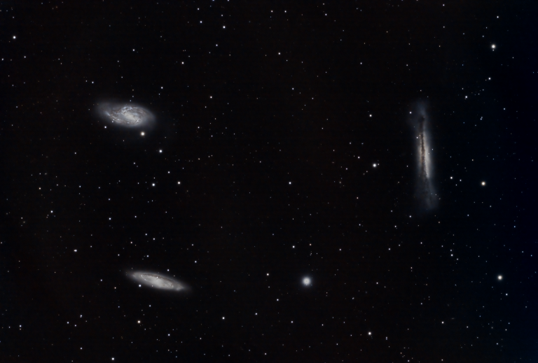 "The ""Leo Trio"" of galaxies"