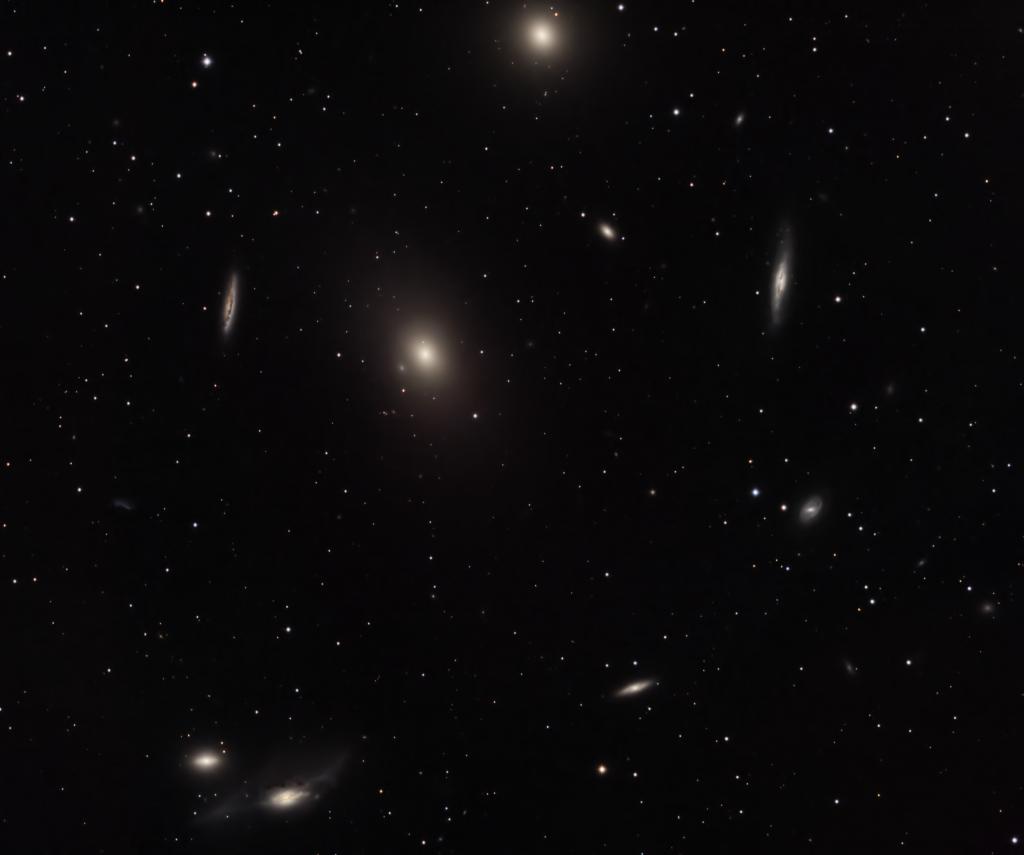 Markarian's Chain of Galaxies