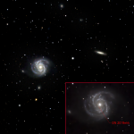M100 with SN2019ehk