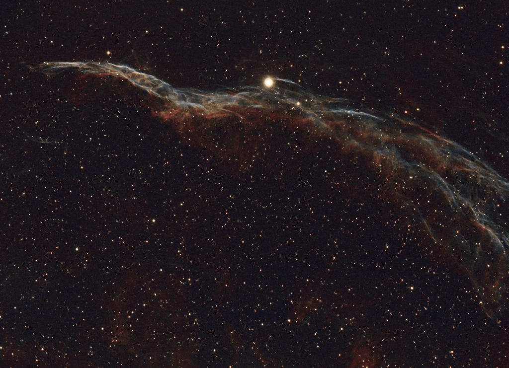 "The ""Witch's Broom"" in the Veil Nebula"