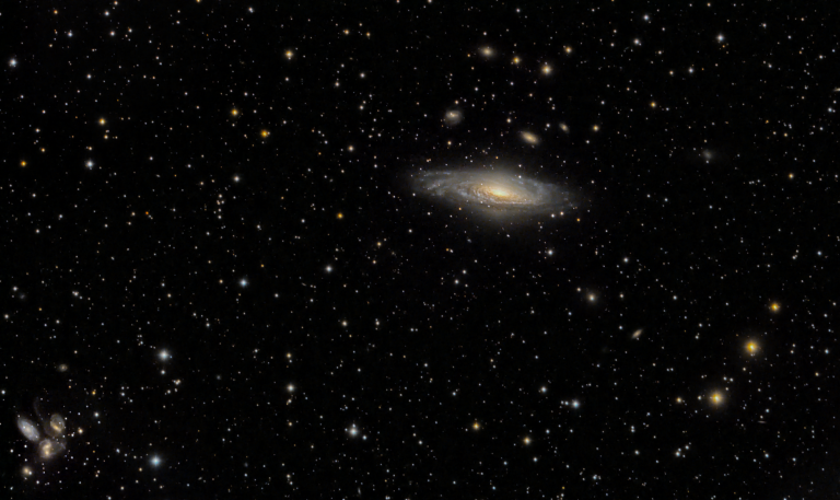 A bunch of galaxies in Pegasus.