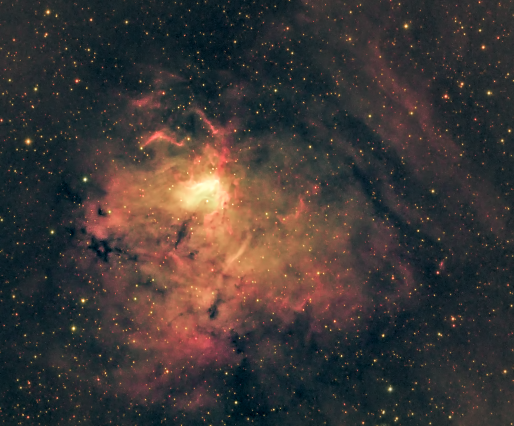 NGC 1491 - natural palette