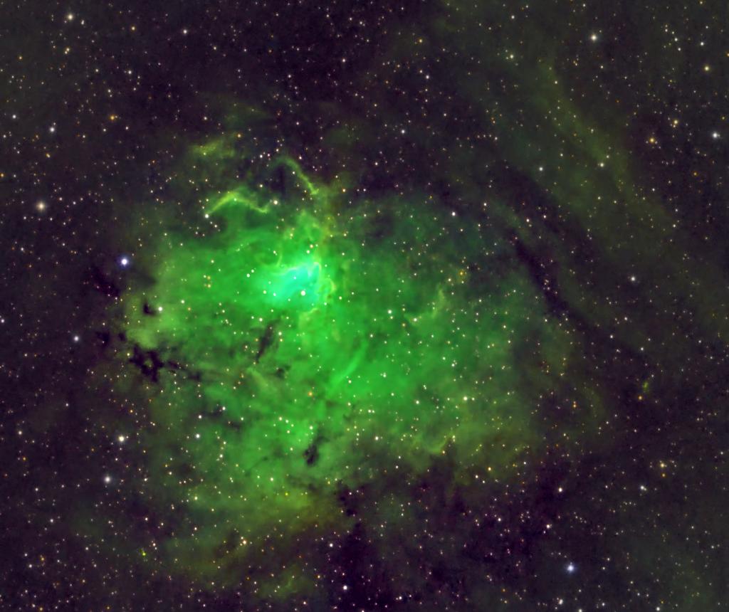 NGC 1491 - Hubble (SHO) palette