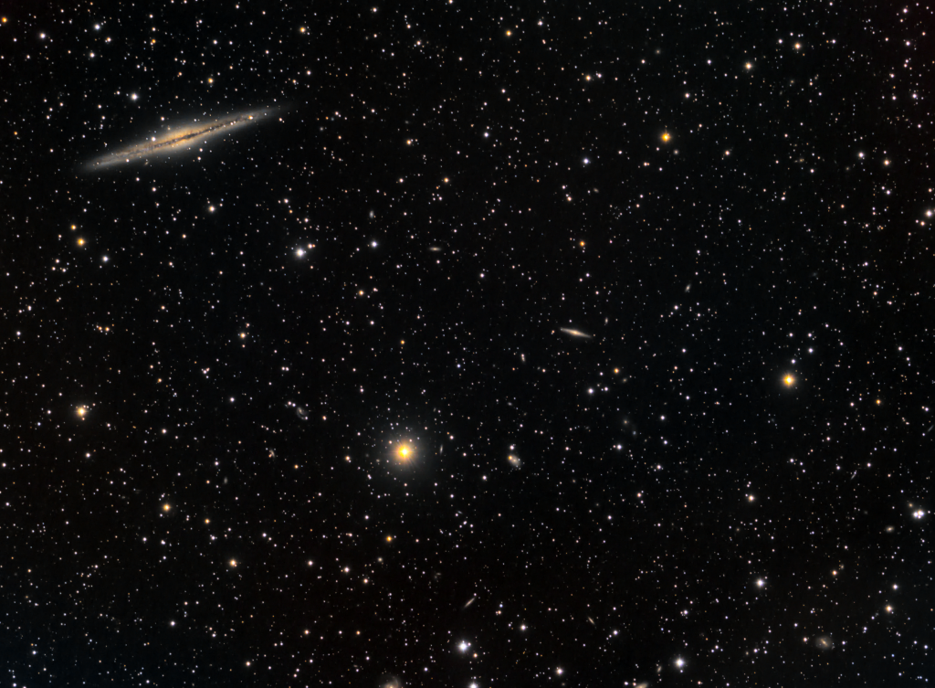 Silver Sliver Galaxy (NGC 891) and friends
