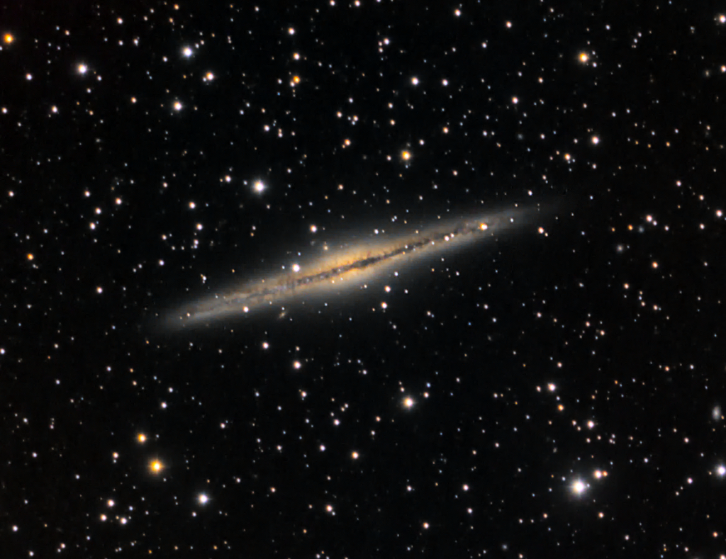 Silver Sliver Galaxy (NGC 891)