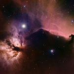 Horsehead and Flame Nebulas