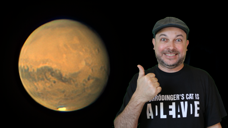New Course: Planetary Imaging Workshop with Mars – Hands On!