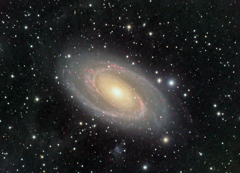 Another year, another Bode's Galaxy image