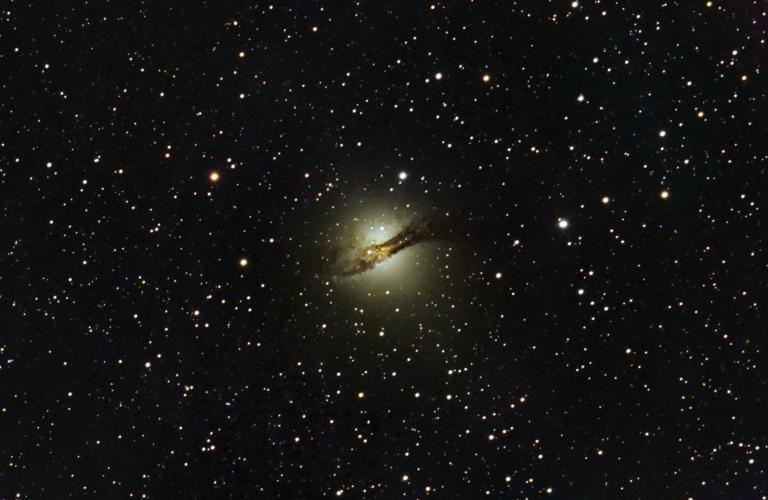 Centaurus A! A weird and challenging galaxy…