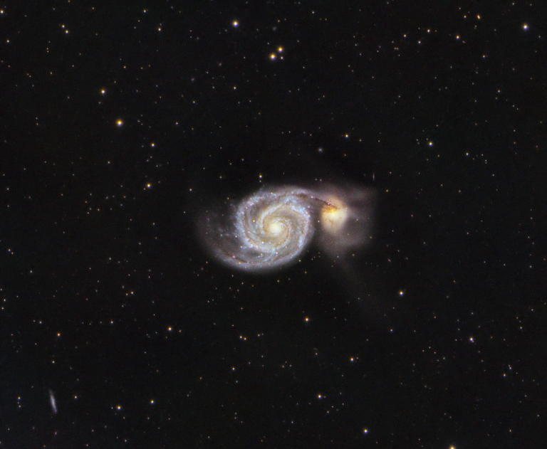 M51, the Whirlpool Galaxy – Another year, another try