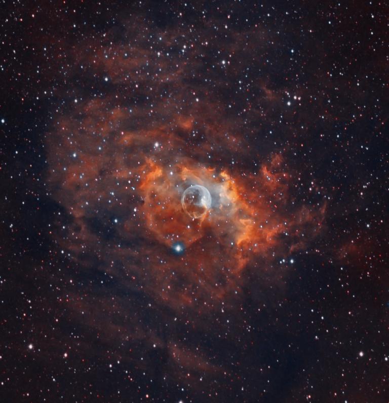 """The """"Bubble Nebula"""""""